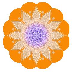 pomaranczowa mandala